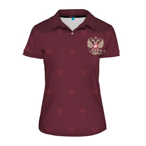 Женская рубашка поло 3D Россия, форма