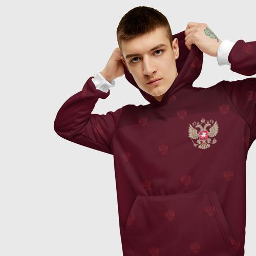 Мужская толстовка 3D Россия, форма