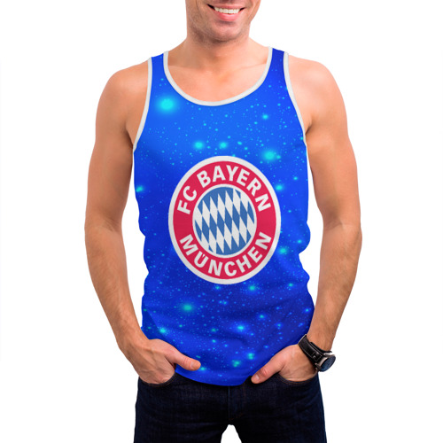 Мужская майка 3D  Фото 03, FC Bayern Munchen space 2018