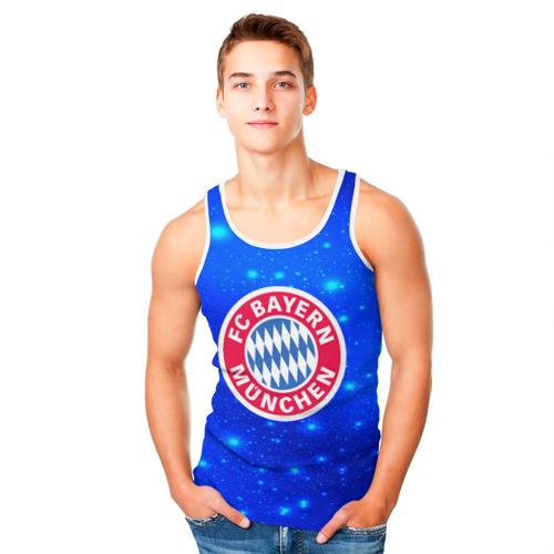 Мужская майка 3D  Фото 05, FC Bayern Munchen space 2018
