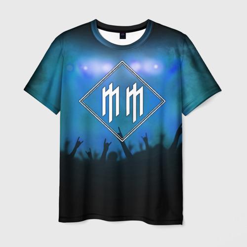 Мужская футболка 3D  Фото 03, Marilyn Manson