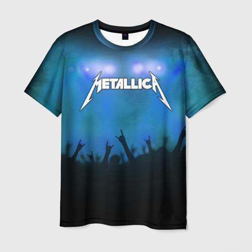 Мужская футболка 3D  Фото 01, Metallica