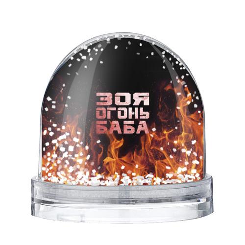 Водяной шар со снегом  Фото 01, Зоя огонь баба