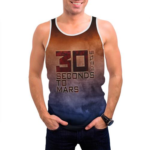 Мужская майка 3D  Фото 03, 30 seconds to mars