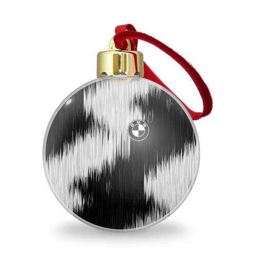 Ёлочный шар с блестками  Фото 01, BMW sport collection black