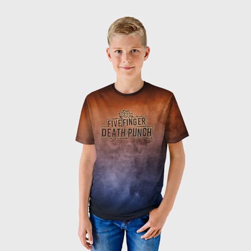 Детская футболка 3D  Фото 01, Five Finger Death Punch