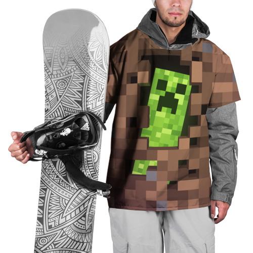 Накидка на куртку 3D  Фото 01, Minecraft creeper