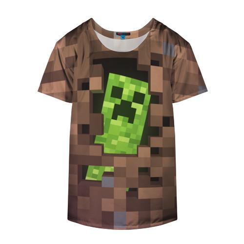 Накидка на куртку 3D  Фото 04, Minecraft creeper
