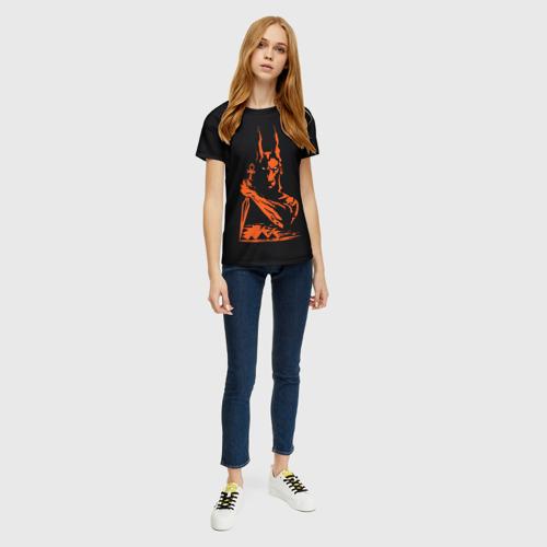 Женская футболка 3D Анубис Фото 01