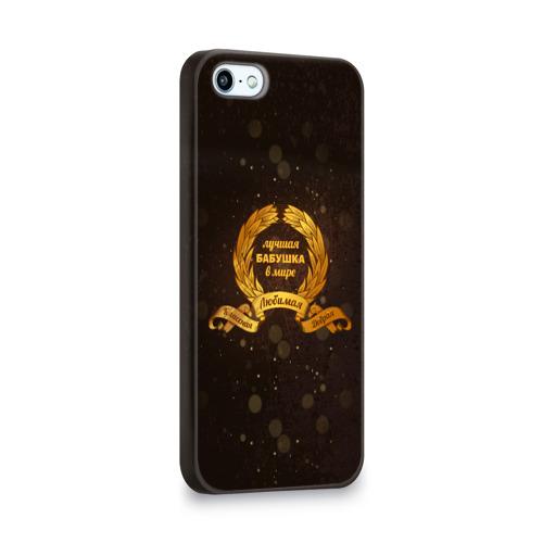 Чехол для Apple iPhone 5/5S 3D  Фото 02, Лучшая БАБУШКА в мире