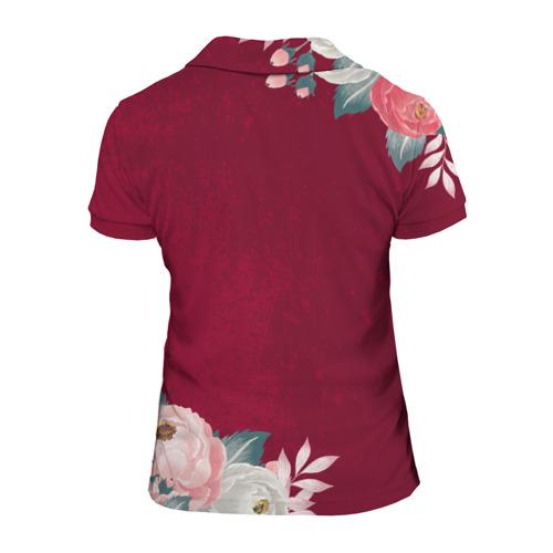Женская рубашка поло 3D  Фото 02, Самая лучшая МАМА в мире