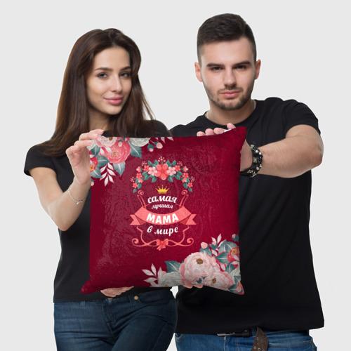 Подушка 3D Самая лучшая МАМА в мире Фото 01