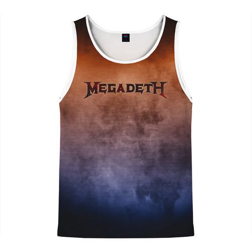 Мужская майка 3D  Фото 01, Megadeth