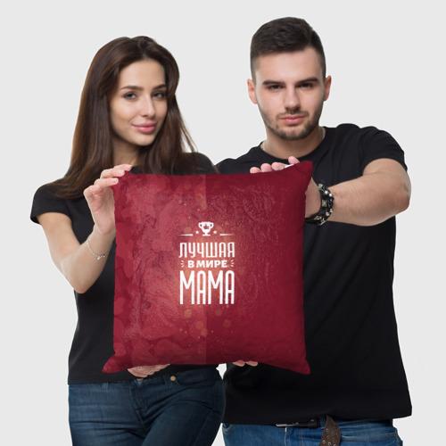Подушка 3D  Фото 05, Лучшая в мире МАМА