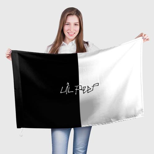 Флаг 3D Lil Peep Фото 01