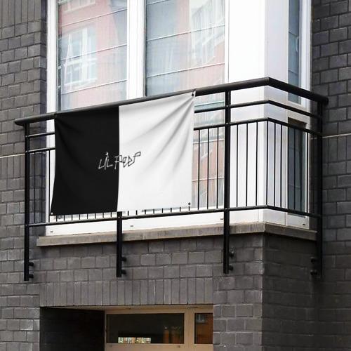 Флаг-баннер Lil Peep Фото 01