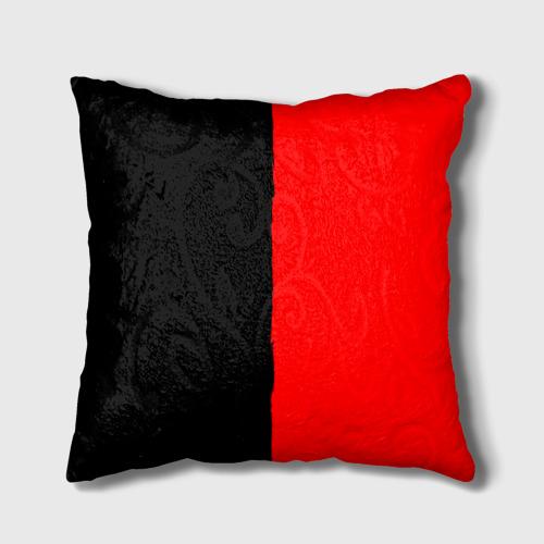 Подушка 3D  Фото 01, Red & Black