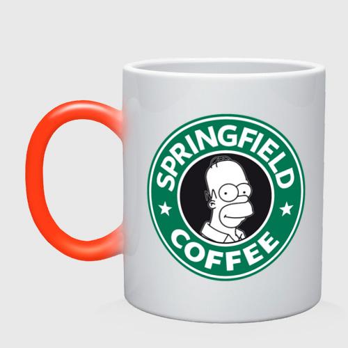 Кружка хамелеон  Фото 01, Springfield Coffee