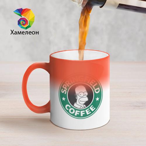 Кружка хамелеон  Фото 05, Springfield Coffee