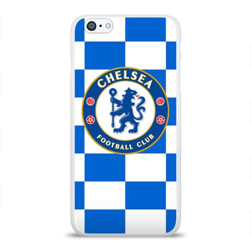 Чехол для Apple iPhone 6Plus/6SPlus силиконовый глянцевый  Фото 01, FC Chelsea