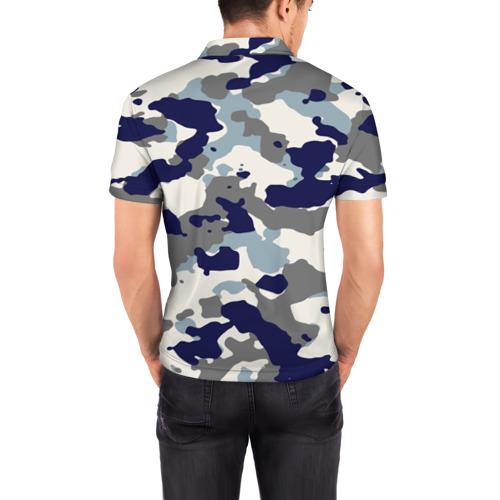 Мужская рубашка поло 3D  Фото 04, FC Chelsea Camouflage