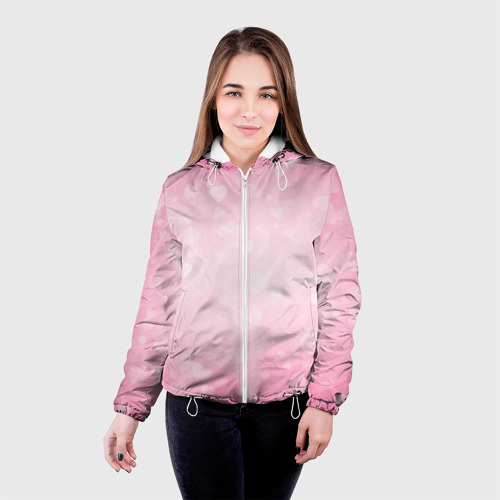Женская куртка 3D  Фото 03, Сердечки
