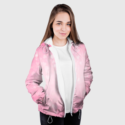 Женская куртка 3D  Фото 04, Сердечки