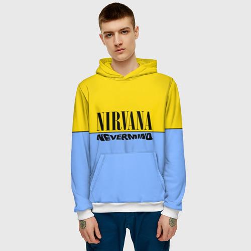 Мужская толстовка 3D  Фото 03, Nirvana nevermino