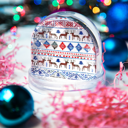 Водяной шар со снегом  Фото 03, christmas winter
