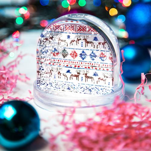 Водяной шар со снегом  Фото 04, christmas winter