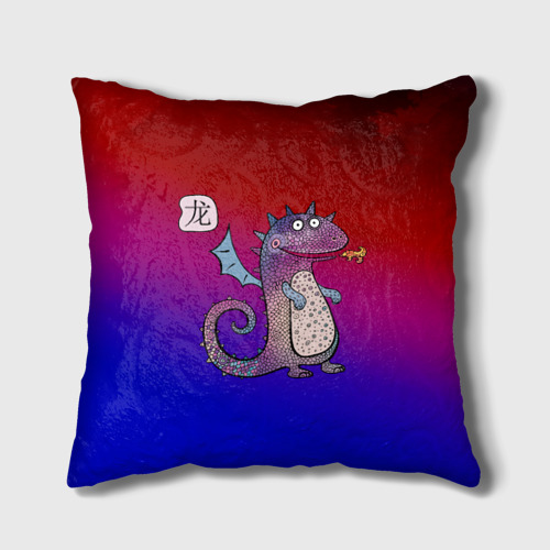 Подушка 3D  Фото 01, Год дракона