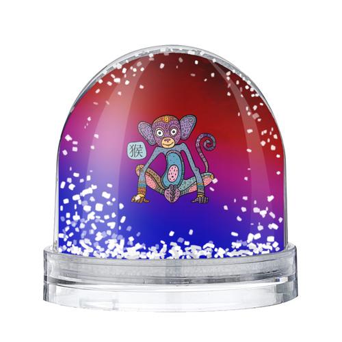 Водяной шар со снегом  Фото 01, Год обезьяны
