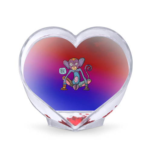 Сувенир Сердце  Фото 01, Год обезьяны