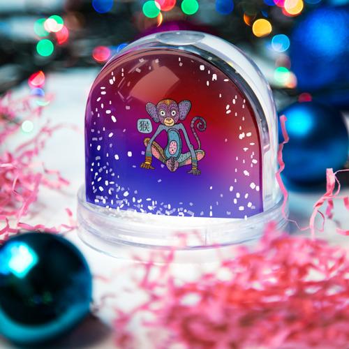 Водяной шар со снегом  Фото 03, Год обезьяны