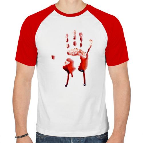 Мужская футболка реглан  Фото 01, Последний отпечаток