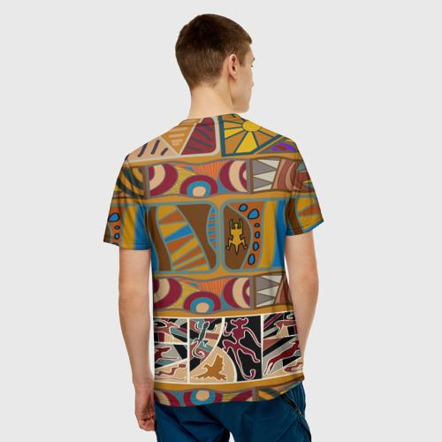 Мужская футболка 3D  Фото 02, Africa Style
