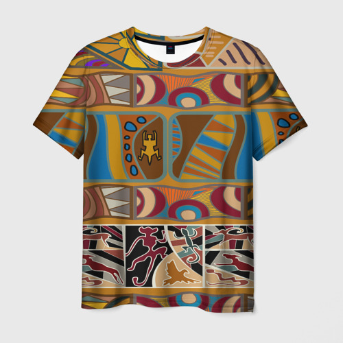 Мужская футболка 3D  Фото 03, Africa Style