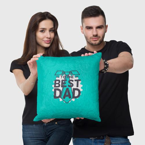 Подушка 3D  Фото 05, Лучший папа