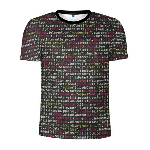 Мужская футболка 3D спортивная Programming , Программирование