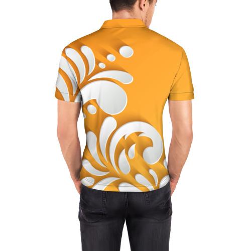 Мужская рубашка поло 3D  Фото 04, Пылания чувств
