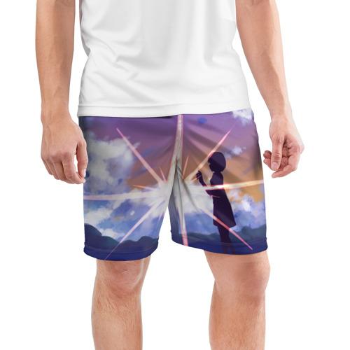 Мужские шорты 3D спортивные  Фото 03, Stars
