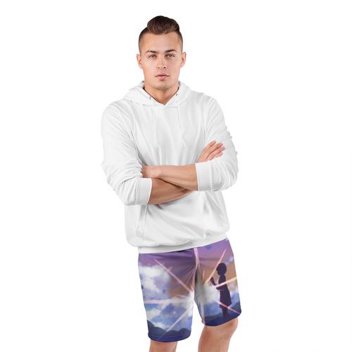 Мужские шорты 3D спортивные  Фото 05, Stars
