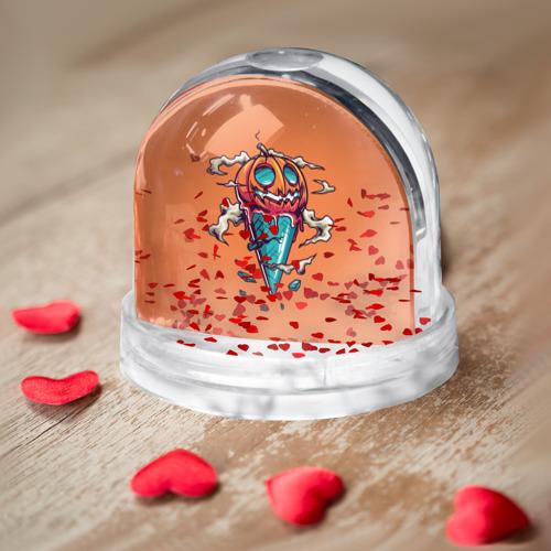 Водяной шар  Фото 03, Тыквенное мороженое