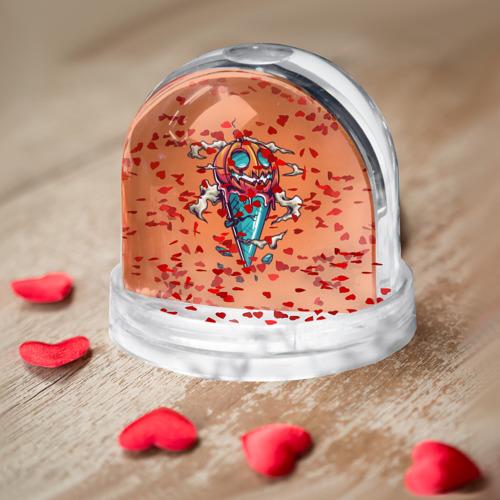 Водяной шар  Фото 04, Тыквенное мороженое