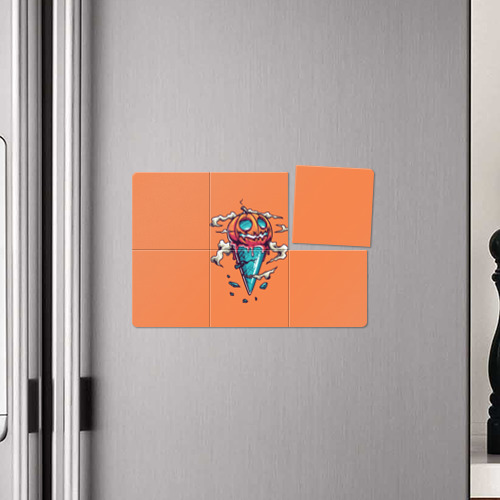 Магнитный плакат 3Х2  Фото 04, Тыквенное мороженое