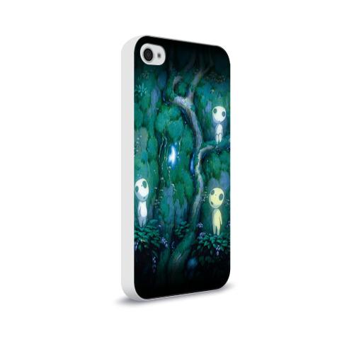 Чехол для Apple iPhone 4/4S soft-touch  Фото 02, принцесса Мононоке_5