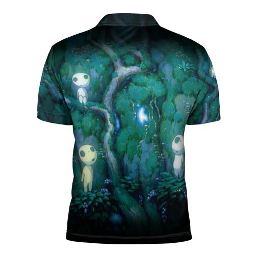 Мужская рубашка поло 3D  Фото 02, принцесса Мононоке_5