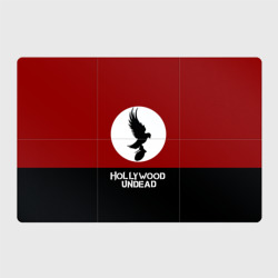 Красно-черный флаг HU