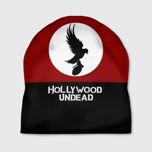 Шапка 3D  Фото 01, Красно-черный флаг HU