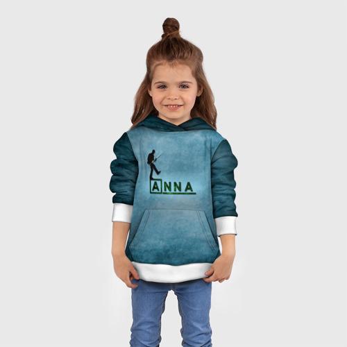 Детская толстовка 3D Анна в стиле Доктор Хаус